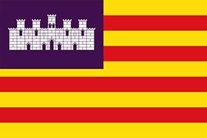 Bandera de las Islas Baleares - CUALIFICA