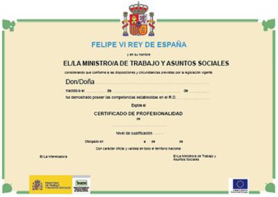Inscríbete ya en nuestros Certificados de Profesionalidad subvencionados - CUALIFICA2