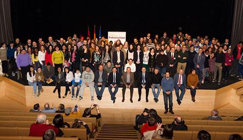 Entregados en La Rioja 365 Certificados de Profesionalidad - CUALIFICA2