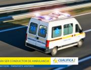 requisitos conductor de ambulancia 2017