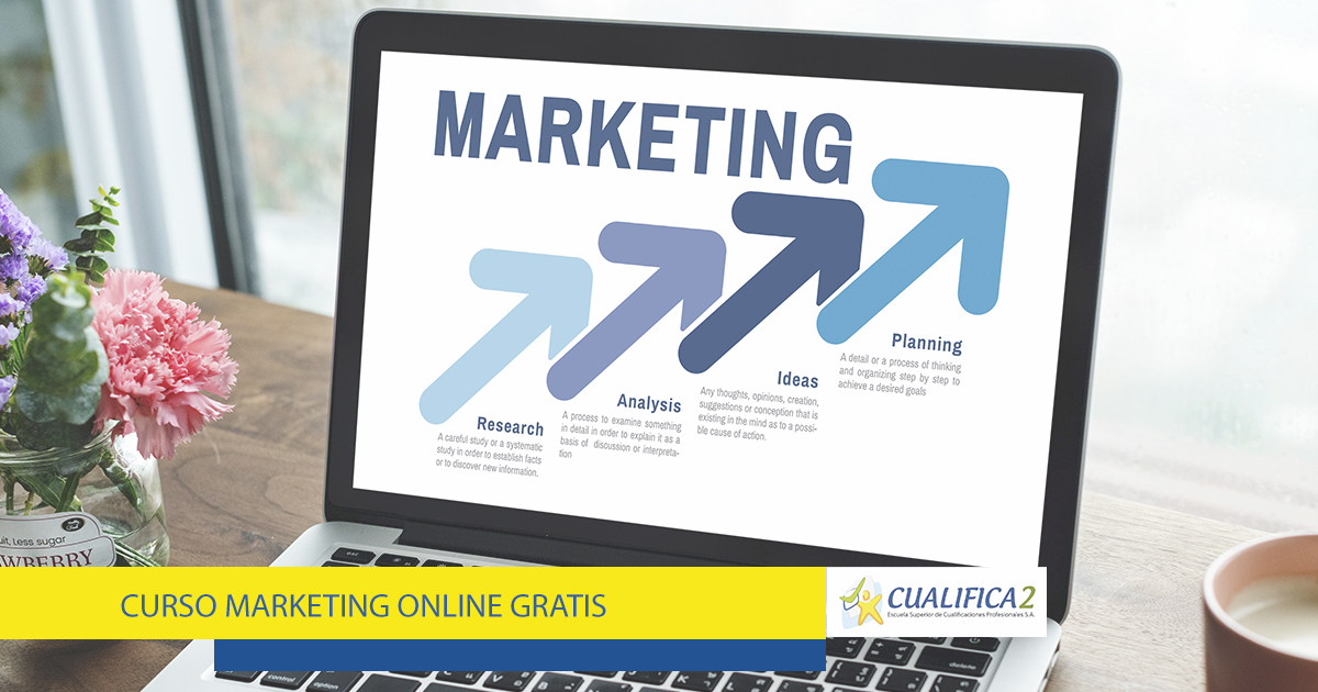 Inscríbete en el Curso Marketing Online Gratis