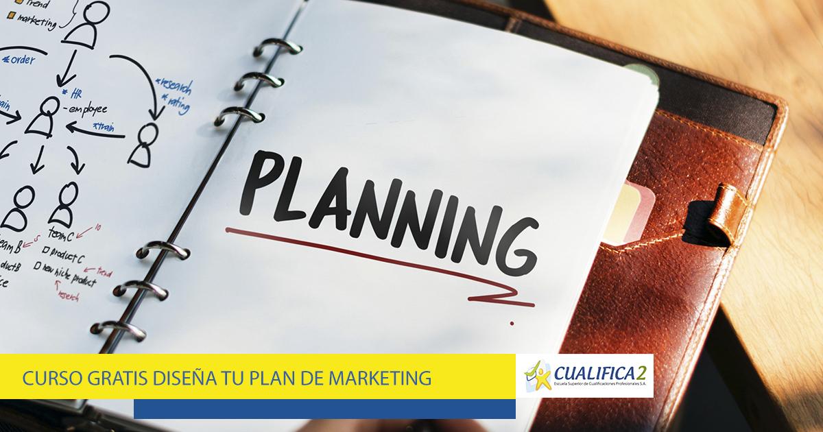 No desaproveches la oportunidad de matricularte de forma gratuita en el Curso Gratis Diseña tu Plan de Marketing