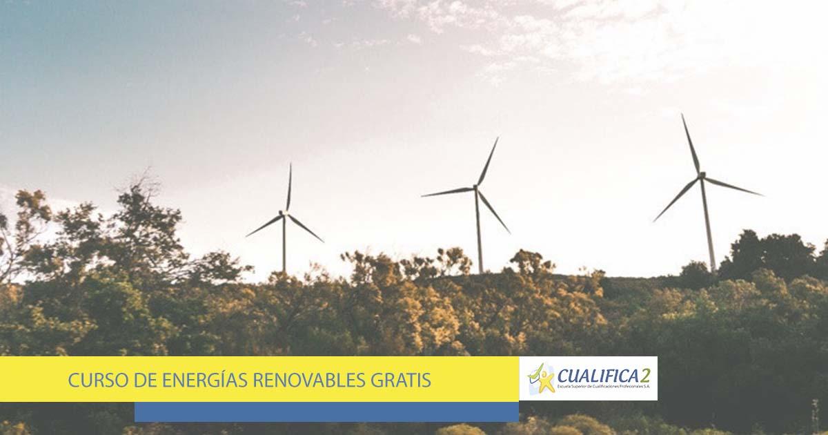 Curso de energías renovables gratis online