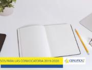 Nuevos cursos para las convocatoria 2019 2020